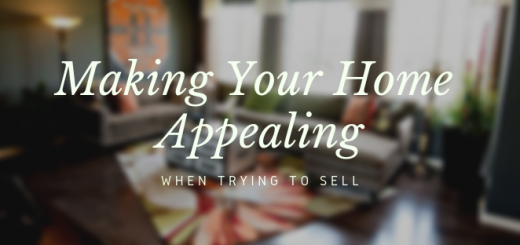 Making Your Home Appealing When Trying To Sell